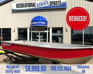 *REDUCED* 14FT MIRROCRAFT 4650 FISHING BOAT PACKAGE (LAST ONE!)