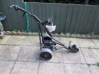 powakaddy freeway electric golf trolley only.full working order.