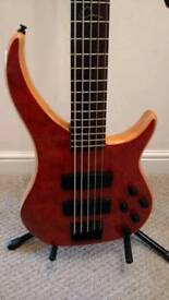 5 String Active Bass sale/swap