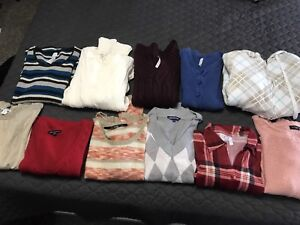 Large Lot of Size S Ladies Clothing (tops, sweaters, dresses)
