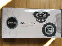 """Inphase XT52II 5.25 """" 13cm 200W 2 way coaxial speakers"""