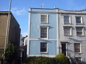 Lovely characterful spacious Georgian 1 bed garden flat in central Bristol