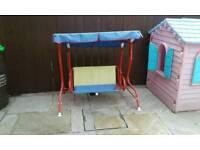 Child's swing seat