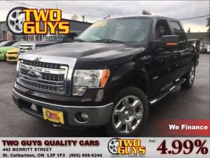 2013 Ford F-150 XTR CREW 4WD ECOBOOST TOW PCKG