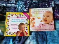 Annabel Karmel baby and toddler recipe books