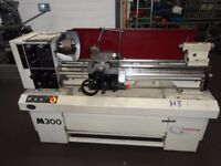 HARRISON M300 GAP BED CENTRE LATHE 40 INC CENTRES YEAR 2006