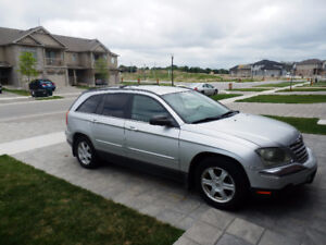 2004 Silver Chrysler Pacifica Crossover