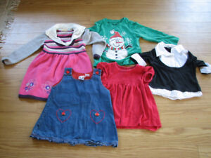 Girls clothes, dress and jacket, 4 years old.
