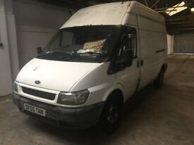 Ford Transit T350 115PS LWB High Roof Spares or Repair with 9 months MOT