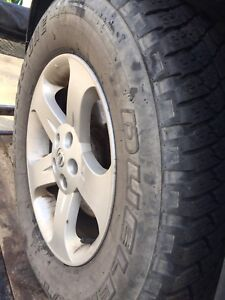 Nissan Murano Rims and tires