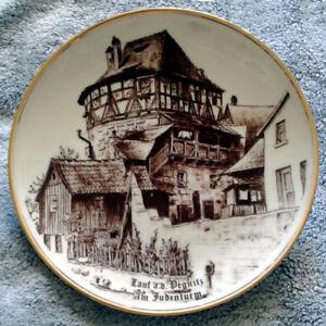 "Stettner ""Jewish Tower At Lauf Pegnitz"" Decorative Plate"