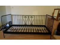 Metal Frame Day Bed (single)