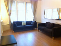 Lovely 1 Bedroom, Furnished Flat with additional office/studio/dining space.