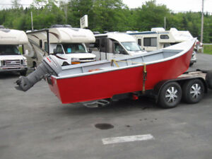 Beautiful Custom Built 16 foot Dinghy (Dory) w/25 hp Outboard