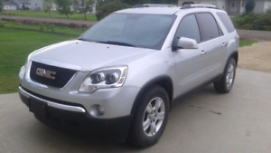 2010 GMC Acadia AWD 8 passenger safetied