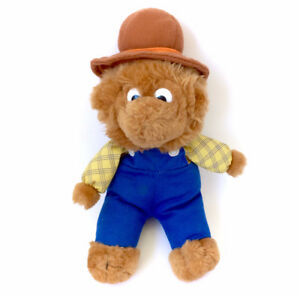 Vintage Berenstain Bears Papa Bear Plush Doll Stuffed Original 9