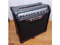 Line 6 Spyder 111 15 watt amp. £40.