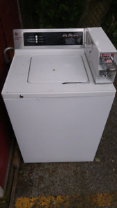 GE Commercial Coin Washing Machine