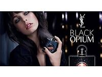 'BLACK OPIUM' YVES SAINT LAURENT, STUNNING! NEW/BOXED/SEALED. COLLECTION/DELIVERY. TEL.07803366789