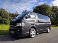 Toyota HiAce Van MPV people carrier AUTO - 8 seats, A/C, sat nav, parking camera
