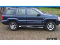 Jeep Grand Cherokee 2.7 CRD limited station wagon. Auto, all leather seats seats-electric front ,