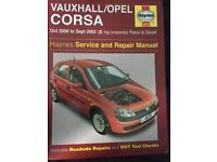 Vauxhall Corsa. Haynes manual