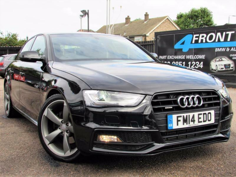 2014 audi a4 2 0 tdi quattro s line black edition automatic 4dr saloon diesel sa in eltham. Black Bedroom Furniture Sets. Home Design Ideas