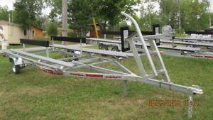 20 ft pontoon trailer galvanized
