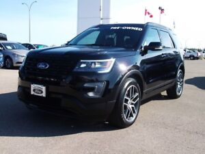 2017 Ford Explorer Sport CERTIFIED PRE-OWNED