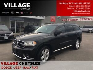 2014 Dodge Durango Limited|Dual DVDs|Pwr Sunroof|Bluetooth|Remot