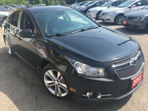 2012 Chevrolet Cruze LT Turbo+ w/1SB/AUTO/4DR/ALLOYS/VERY CLEAN