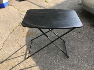 Adjustable Height Folding Table Personal Projects