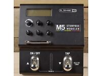 Line 6 M5 Stompbox Modeler 100+ FX Guitar Multi Effects Pedal