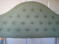 Upholstered Double Bed Headboard