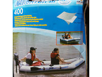 Navigator III Inflatable Boat 400 with new 2.5HP motor