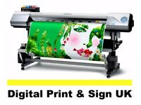PVC Banner Printing, Business Card, T-shirt, A0 Poster in 2 hours