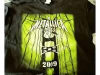2009 Metallica Club t shirt