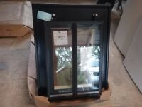Roofing company conservation rooflight. 2 BRAND NEW CONSERVATION ROOFLIGHTS ,BLACK STEEL/CAST.