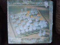 Chess Set / draughts / Checkers set