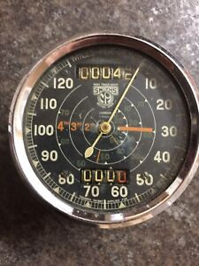 Old Smiths speedometer  ( sold pending pick up )