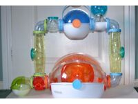 Hamster Cage BUNDLE- cage,exercise ball, playpen