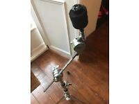 Sonor/Tama hybrid boom cymbal stand