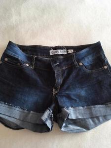 Short Powder room denim shorts