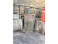 Free paving slabs different sizes