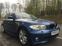 BMW 120i SPORT 5 DOOR ONLY 82K LONG MOT 6 SPEED FULL LEATHER XENONS 3 MONTHS AA WARRANTY