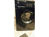 Gorgeous black Beko washing machine!