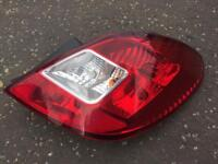 Vauxhall Corsa D 2006 5 door rear driver side light