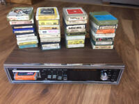 8 Track and 30+ Cartridges for Restoration