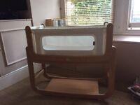 Snuzpod 2 bedside cot/crib for sale