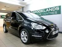 Ford S-Max 2.0TDCI TITANIUM 140PS [4X SERVICES, 7 SEATS and DAB RADIO]